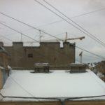 Очистка кровли от снега и наледи Очистка кровли от снега и наледи Баскаков переулок д. 8