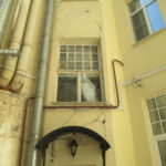 Ремонт фасадов, Петропавловская улица дом 4